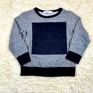 H&M Dark Gray Toddler Boy Sweatshirt
